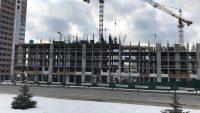 Ход строительства ЖК Лебединый за 19 февраля 2018