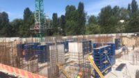 Ход строительства ЖК Лебединый за 1 июля 2017