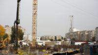 Ход строительства ЖК Лебединый за 17 октября 2017