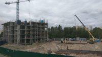 Ход строительства ЖК Лебединый за 7 сентября 2017