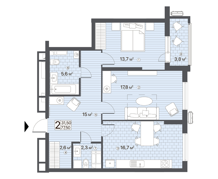 Appartment preview